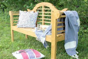 DIY Outdoor Lutyens Bench