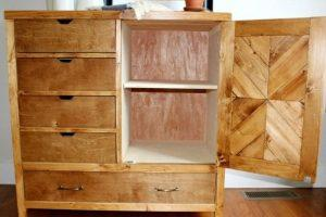 5 Drawer Dresser with Door