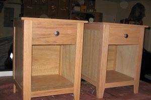 Craftsman Style Nightstands