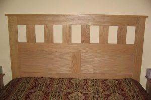 Craftsman Style Queen Sized Headboard