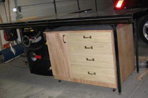 Workshop Table Saw Storage Cabinet