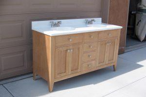 Cherry Bath Vanity – 60 inch