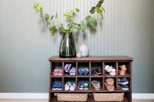 Simple Shoe Cubby