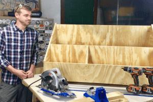 Scrap Wood Organizer