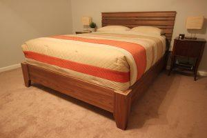 Queen-Size Plywood Bed