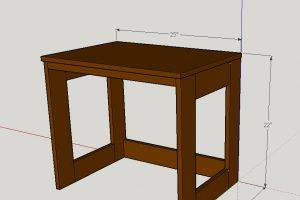 Simple Gaming Table