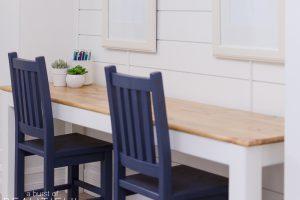 Simple Kids Craft Table
