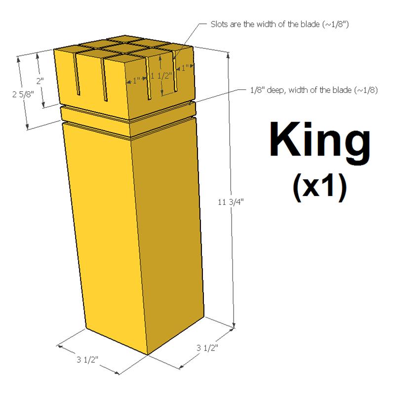 king-measurements