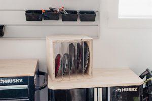 DIY Saw Blade Storage Box