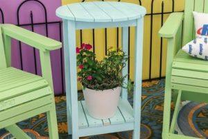 Adirondack Counter Height Side Table
