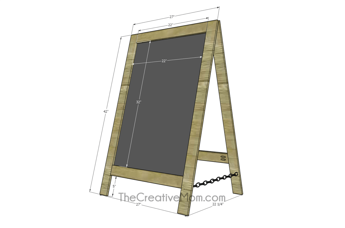 large-easel-chalkboard-building-plans
