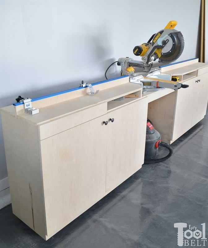 miter-saw-station-and-storage-with-precision-trak-and-stop-kit