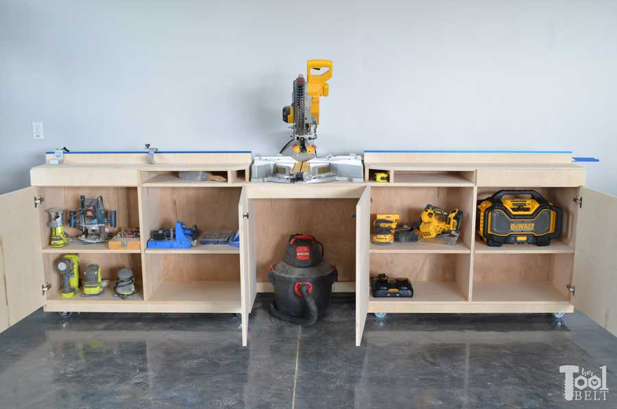 miter-saw-station-and-storage-with-tools