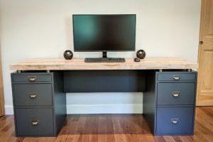 Build a Modern Industrial Desk