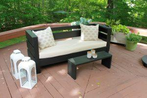 Simple Outdoor Bench/Coffee Table