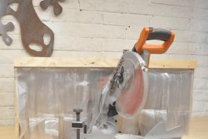 Modular Miter Station – Phase 4 – Dust Hood