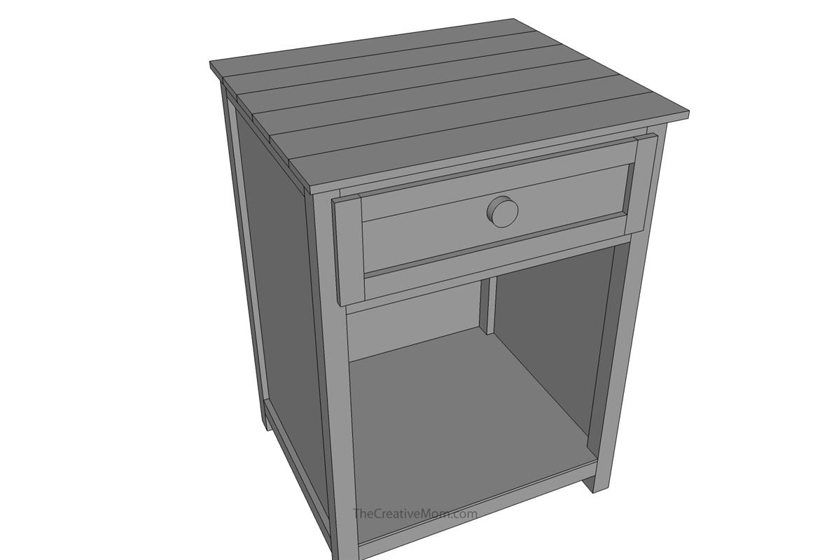 nightstand-building-plans