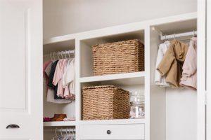 Built-In Closet Organizer