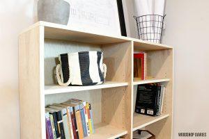 One Sheet Plywood Bookshelf