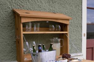 Outdoor Fold Down Bar