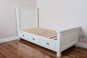 Farmhouse Platform Bed with Storage