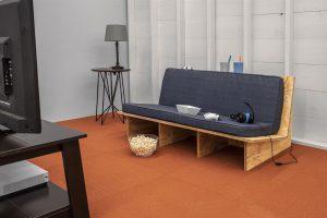 DIY Padded Sofa – Metric