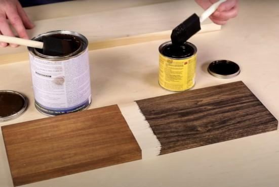 How to select wood stain: gel vs. liquid