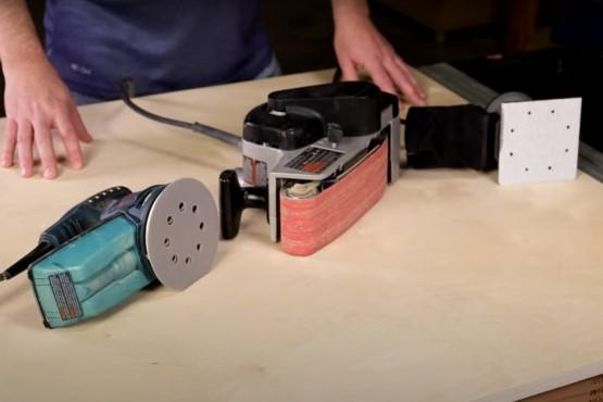 How to select your first sander