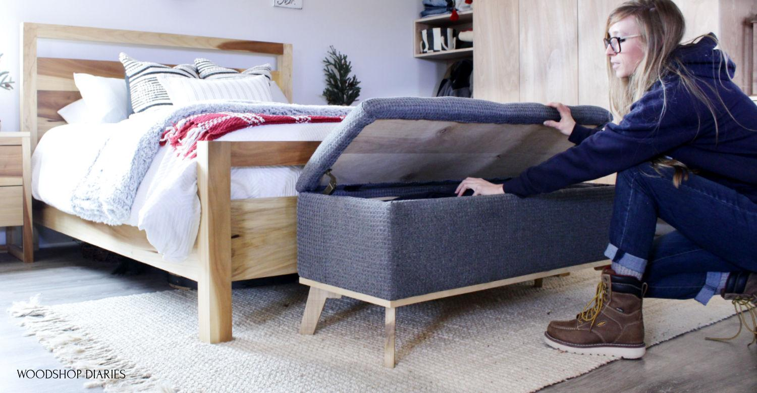 shara-opening-lid-on-storage-bench-small