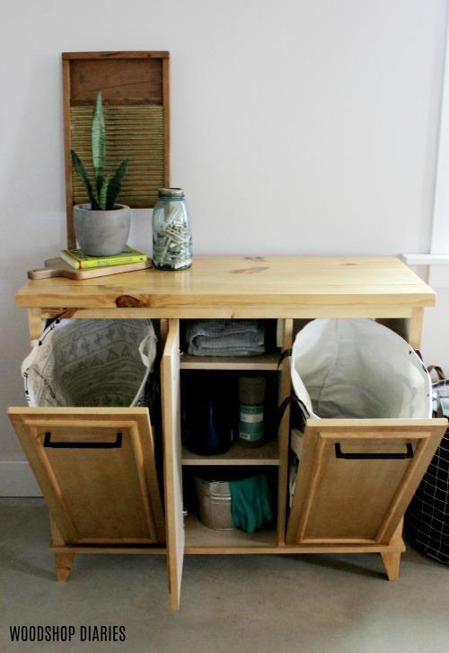 Kreg Tool Innovative Solutions For, Laundry Hamper Cabinet Diy