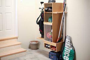 Sports Equipment Storage