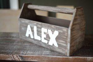 DIY Wooden Tool Box