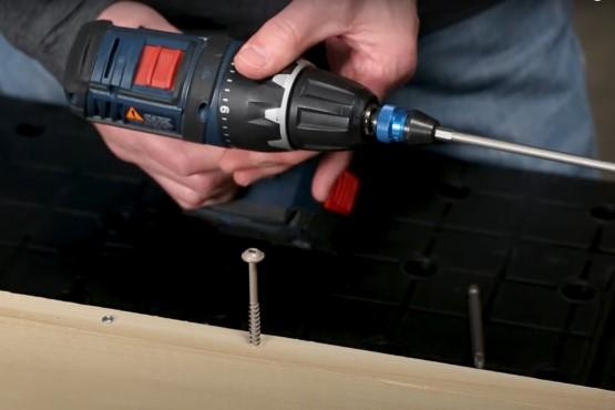 How to use a drill clutch
