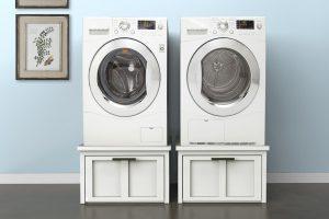 Washer & Dryer Pedestals with Storage
