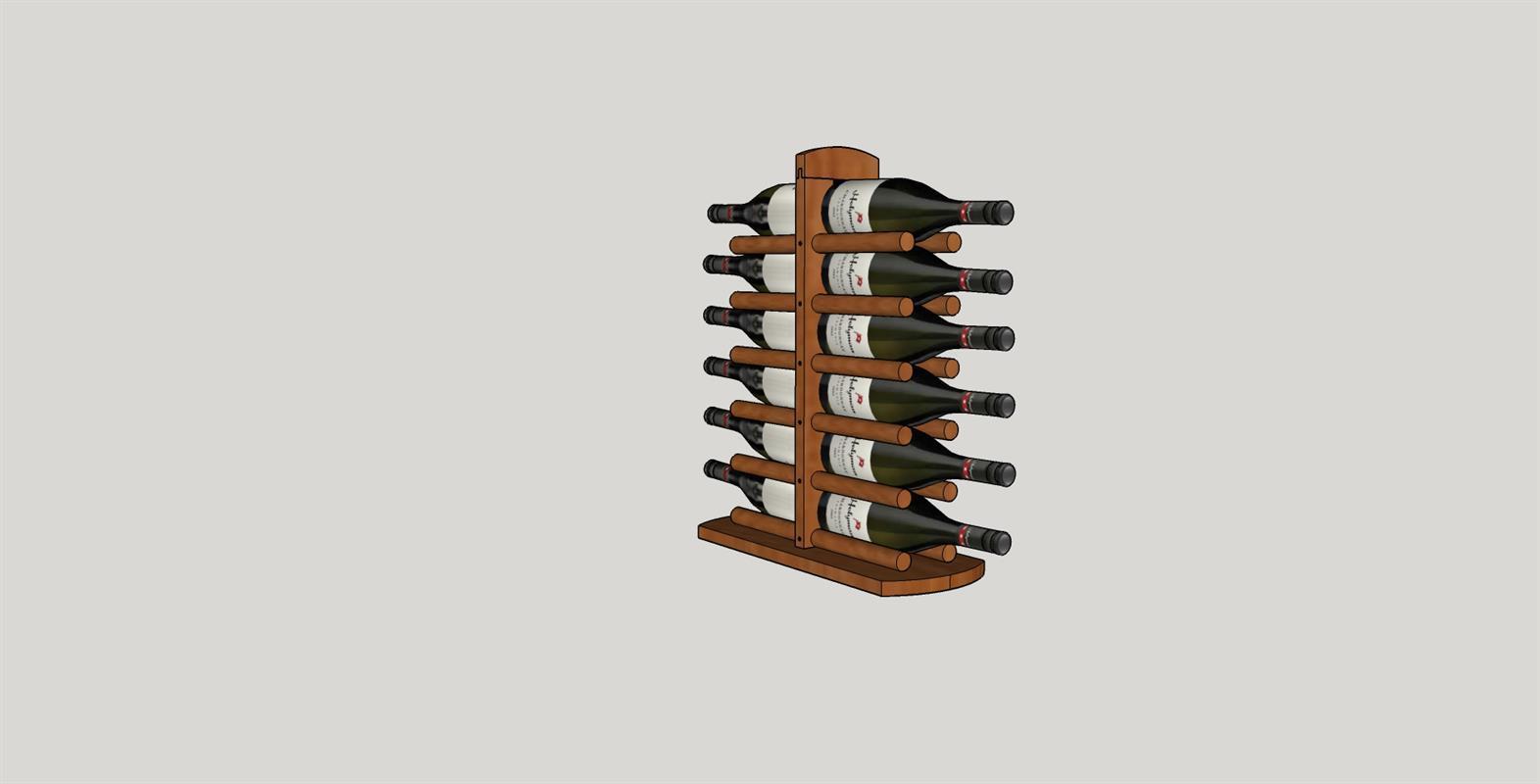 wine-rack-12-bottle-colored-filled