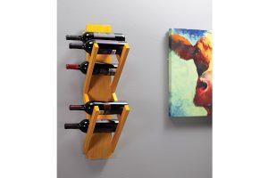 Wall-Mounted Wine Rack – Metric