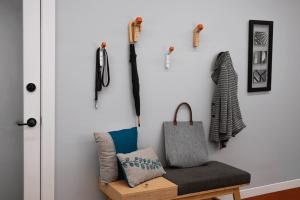Simple Wood Wall Hooks