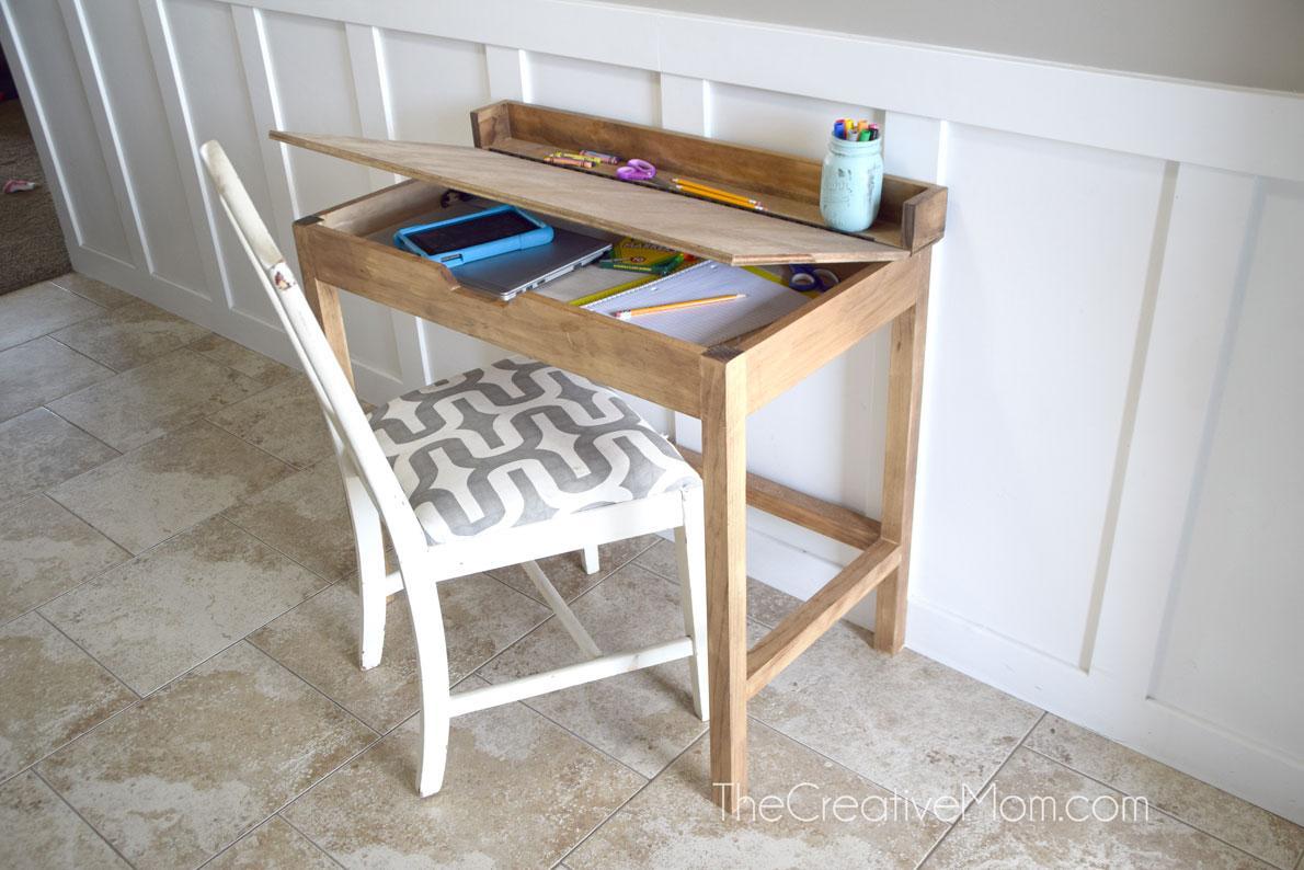 building-plans-school-desk