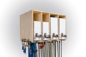 Space Saving Clamp Rack for a Small Shop