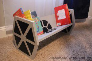 Star Wars TIE Fighter Bookshelf
