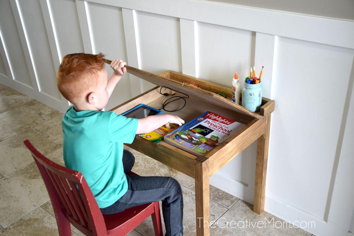 diy-child-school-desk