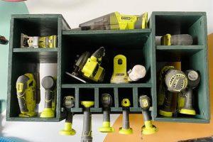 DIY Tool Organization + Storage