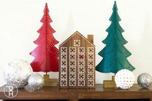 Easy Advent Calendar House
