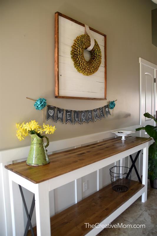 farmhouse-entryway-table