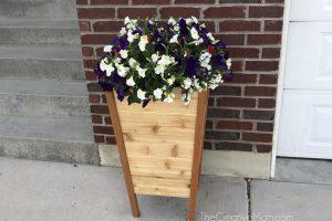 Tall Tapered Planter Boxes