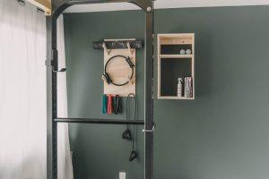 Wall Mounted Exercise Storage