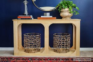 One Sheet Plywood Console