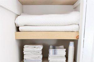 Plywood Shelves for Closet