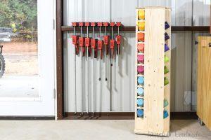 Spray Paint Storage Cabinet