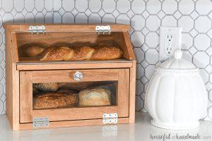 Two Story Bread Box